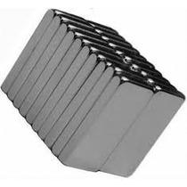 Imanes De Neodimio Rectangulares 10x5x2mm Grado N35 Magnetos