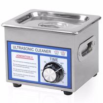 Limpiador Ultrasonico Capacidad 1.3 Litros Joyería Gafas