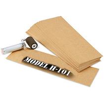 Caja Con 762 Plantillas De Carton Aceitado Para Estarcido