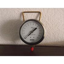 Manómetro Para Presión De Vapor Reid Pvr