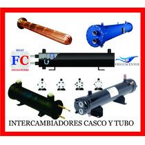 Intercambiador De Calor, Casco Y Tubo 50 Ton 2 Circ, Fc50c2c