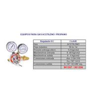 Regulador Acetileno/propano/gas Lp/butano Alear 901207