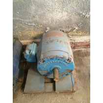 Motor Electrico Horizontal 5hp 3 Fases 220-440v 3,500 Rpm