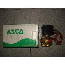 Valvula Solenoide Marca Asco Red Hat 4 Vias Mod Ef8342g001