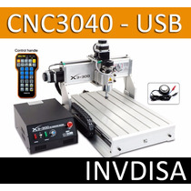 Cnc Mini Router Cnc3040 - 3 Ejes Nuevo Interfaz Usb