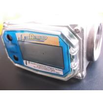 Medidor De Flujo Para Liquidos, Con Turbina Electronico