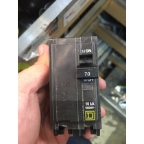 Interruptor Termomagnetico Square D Qob270 2 Polo 70 Amperes