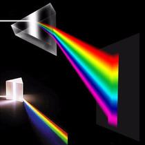 Prisma Triangular Difraccion De Luz Arcoiris Vidrio 3x5cm