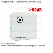 Alarma Sensor Inalambrica Para Detectar Fugas De Agua 80db