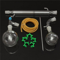 Aparato De Vidrio Para Destilación, Kit Quimica, Cristaleria