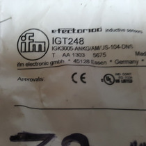 Sensor De Proximidad Inductivo Ifm Igt248