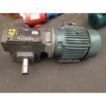 Motoreductor De 3 Hp Relacion 20 - 1 Trifasico