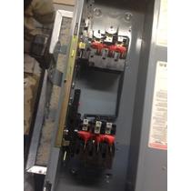 Interruptor Doble Tiro 3x100 Squre D, Dtu363