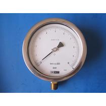 De Wit Manometro 6 Diametro De 0-10 Bar Presicion 0.05