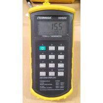 Omega Hh502 Termometro Uso Rudo, Termopar Tipo K Y J, Dual