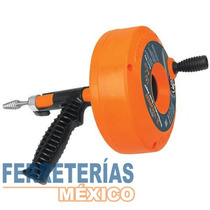Destapacaños Cable Acero 7.6 Mt Truper 12280