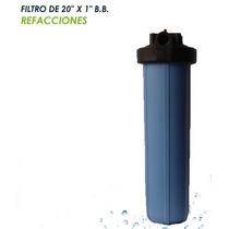 Filtro Bigblue20in Cartucho Desmineralizador De Resina Mixta