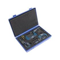 Igaging 0-3 Electrónico Digital Fuera Micrómetro Conjunto 0