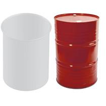 Caja Con 20 Fundas Solidas Lisas Para Tambos De 208 Litros