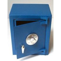 Caja Fuerte Metalica Tipo Alcancia, Abre Con Combinacion *
