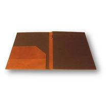Carpeta Porta Documentos En Piel
