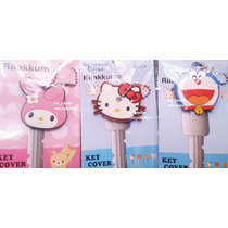 Cubre Llaves, Llavero, My Melody, Doraemon, Hello Kitty