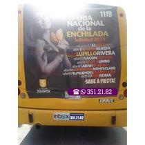 Publicidad En Transporte Urbano Y/o Camiones San Luis Potosi