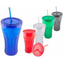 5 Vasos Dble Pared 500ml Impresos C/tu Logo Envio Gratis D15