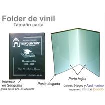 Folder De Vinil Tamaño Carta, Porta Documentos, Graduaciones
