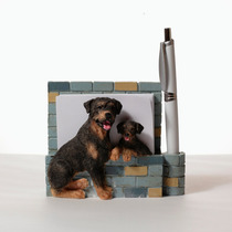 Portanotas Imantado De Ceramica Rottweiler - Hermoso!
