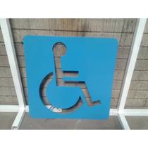 Senalamiento Para Discapacitados De Lamina
