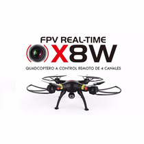 Drone Fpv Syma X8w Venture Camara Wifi Video Tiempo Real