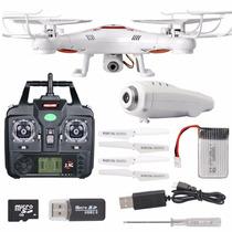 Drone Syma X5c-1 Recargable Camara Video Hd 4 Helices Extra