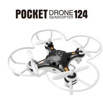 Quadrocoptero De Bolsillo Fq777-124 Mini Drone 4 Ch 6 Ejes