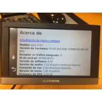 Gps Garmin Nuvi 2597 Bluetooth Mapas Gratis De X Vida
