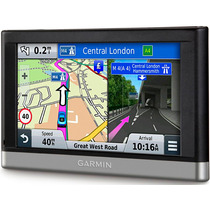 Gps Garmin Nuvi 2557lm Bluetooth Recon. Voz Act Mapas X Vida