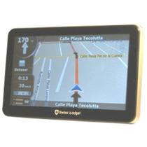 Gps Swiss Gadget 750ar 7 Pulg Con 5 Mapas De Todo Mexico Fn4