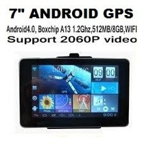 Gps Tablet Android 7 8gb Wi-fi, Bt, Av Sin Pago De Rentas