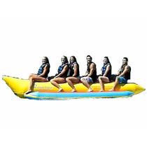 Banana Inflable Island Hopper Comercial Playa 6 Personas