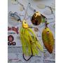 Hawaiana Pesca Lobina1/2 Oz Doble Anzuelo
