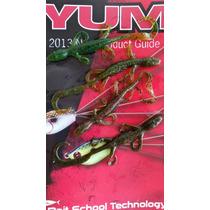 Señuelo Lizard Yum 6 Pesca Lobina Paquete 10 Pz