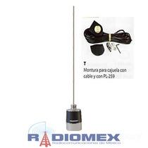 Kit De Antena Vhf Mhb5800 Maxrad Con Montaje Para Cajuela