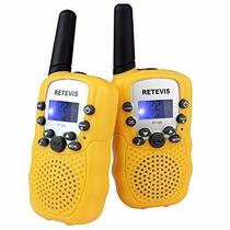 Radios Retevis Rt-388 Kids Walkie Talkie Uhf 46 Paquete De 2