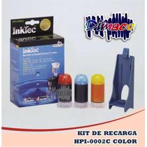Kit De Recarga Hpi-0002c Color Para Hp17/ 23/41 Y 78