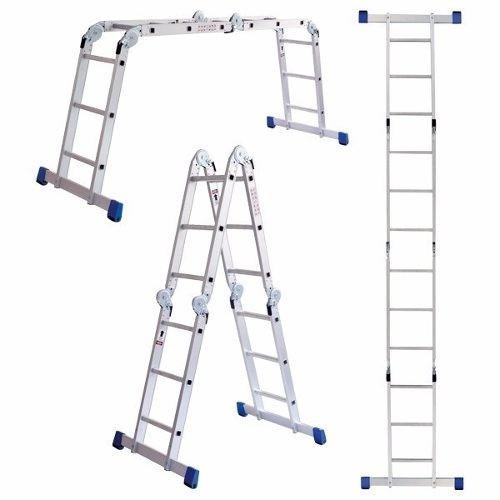 escalera de aluminio articulada plegable multiladder 3