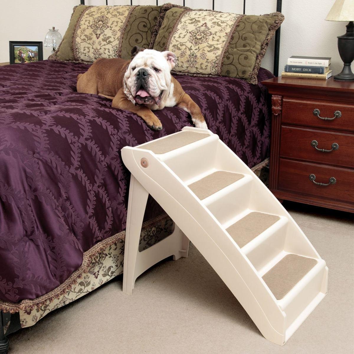 Escalera pupstep solvit para mascotas perro gato xl - Escaleras para perros ...
