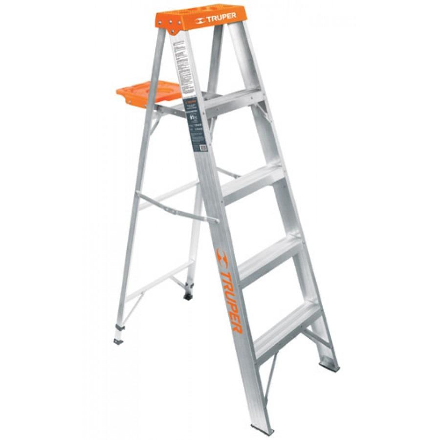 Escalera tipo tijera t3 con 4 escalones con bandeja - Tipo de escaleras ...