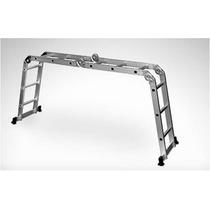 Escalera Multifuncional Plegable De 8 Posiciones En Aluminio