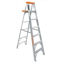 Escalera De Tijera, Aluminio, Tipo Ll, 8 Escalones