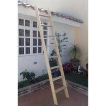 Escalera De Madera De 253 X 45 X 10 Cm
